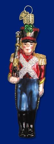 Toy Soldier,  Christmas Glass Ornaments  www.oldworldchristmas.com