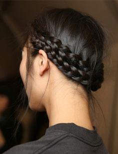 Pretty braids.