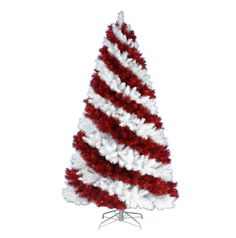 """Yes it's a candy cane  Christmas tree: You have to click this to see all these AWESOME """"undecorated"""" Christmas Trees!"""