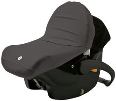 Finally a car seat canopy that protects baby from outside elements, germs, and bugs all while letting you see your little one through a mesh window. The super soft, stretchy UPF 50+ shade fits on most infant car seats, too!