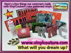 NEW Pattern Craft Vinyl