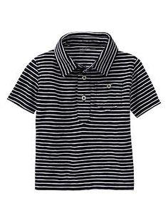 Contrast striped polo | Gap