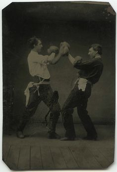 I challenge you to an old time boxing match @Hayley Elizabeth