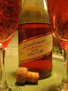 the Tuscan wine grape also known as Lambrusco, Italy