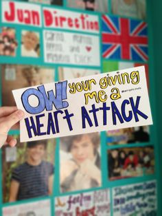Heart Attack- One Direction<< ok I'm sorry but my grammar perfectionist inside of me is like in overdrive *you're