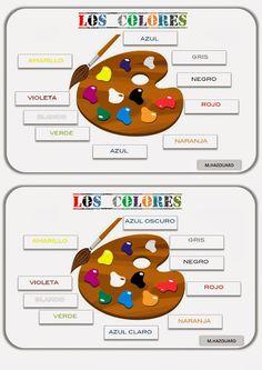 CLASE DE ESPAÑOL : los colores