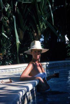 Cool Off by Slim Aarons