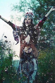 hipster, bubbles, rain dance, summer girls, boho, woman style, water droplets, photo shoots, bohemian