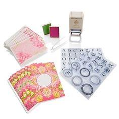 Anna Griffin® Self-Inking Monogram Stamper Kit at HSN.com.