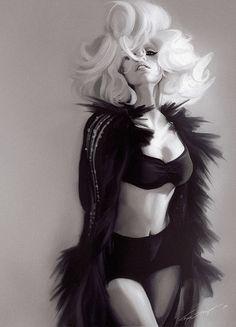 LADY GAGA by mFynn.deviantart.com