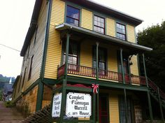Campbell Flanagan Murrell House, the oldest house still standing in Hinton, WV