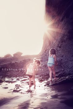 beautiful beach shot #beach #kids