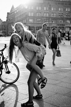 Smile, laugh, have fun... always