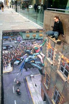Best chalk art ever.