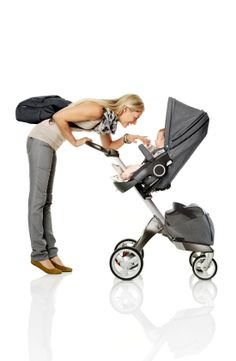 Higher is better! Stokke Xplory is the ultimate connection stroller