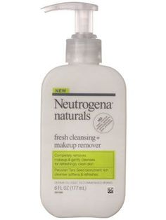 Neutrogena Naturals Fresh Cleansing + Makeup Remover