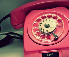 pink pink pink, vintage phones, numbers, vintage pink, colors