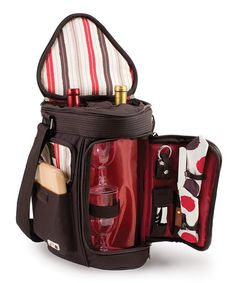 Moka Meritage Wine Tote Set by Picnic Time ($42.99) on zulily
