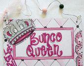 hand, bunco fun, party hats, bunco queen, pumpkin sign, bunco girl, treat pumpkin, door signs, buncogirl night