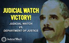 Judicial Watch Victory. Dept. of Justice