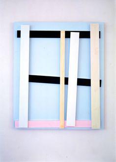 From Giacomo Guidi Arte Contemporanea, Imi Knoebel, Der Deutsche (6) (2010), Acrylic on aluminum, 150 × 125 × 8 1/2 cm