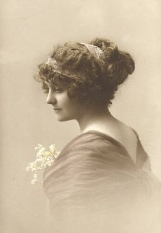 edwardian, vintage woman, fashion photo, vintag photographi, victorian hairstyl