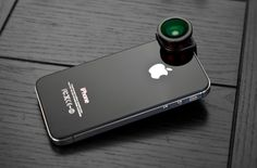 iPhone lens booster