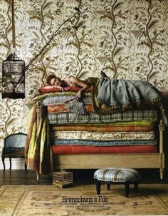 Brunschwig Fils Princess and the Pea