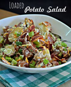 Loaded Potato Salad Recipe by Hip2Save.com