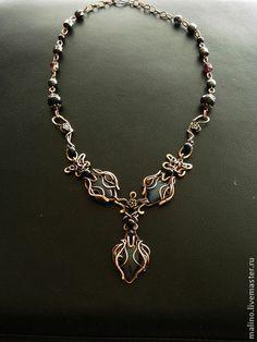 Necklace with Labradorite