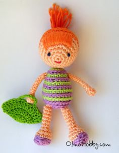 Amigurumi Doll ~ Free Russian Pattern