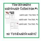 This is the COMPLETE COLLECTION of Math Mats! All 12 Ten Packs are included on this flash drive for a total of 120 Math Mats! $