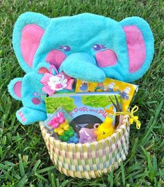 Fun & healthy non-food Easter baskets  http://www.bentoriffic.com