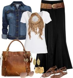 Makes me happy and excited for fall...love the casual but put together aspect