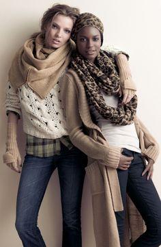 love the scarfs!