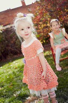 Vestido niña. Inspiración. / Melania Dress - Crochet Me