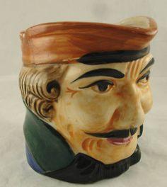 """Vintage """"Made in Japan"""" Toby Jug Mug"""
