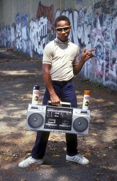 Early 80s hip-hop pi