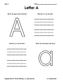 Preschool Worksheets...