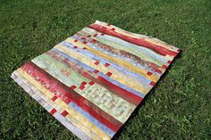 Spun Sugar Quilts: jelly roll race #2