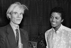 Andy Warhol & Michael Jackson.