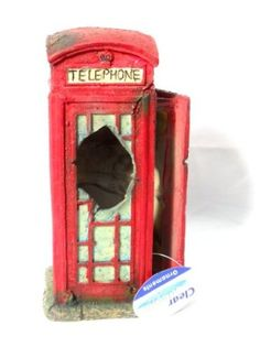 Amazon.com: Old Telephone Box: Pet Supplies