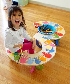 Take a look at this Oaxaca Handprints 3 Table  by tambino on #zulily today!