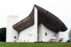 Notre Dame du Haut in Ronchamp, France (1954) / by Le Corbusier, photo by Mandy Thomas