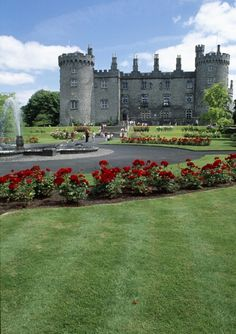 The 12th century Kilkenny Castle is located right in the center of medieval Kilkenny City.  http://www.tourireland.com/database/?item=3