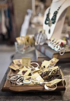 visual merchandis, accessori display, idea de, de musa, jewelri packag