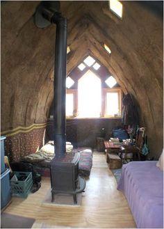 Cob Gothic Arch House