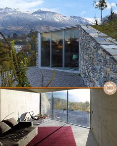 Could you live in this underground home in Sierre, Switzerland? Visit more stunning underground homes on our site at http://theownerbuildernetwork.co/house-hunting/unusual-homes/living-underground/ The advantages are enormous, but could you live underground?