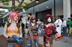 Cosplay - Lilith, Mordecai & Mad Moxxi