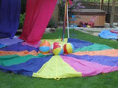 Rainbow party game ideas